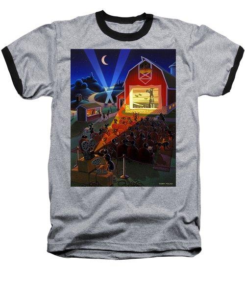 Ants At The Movies Baseball T-Shirt