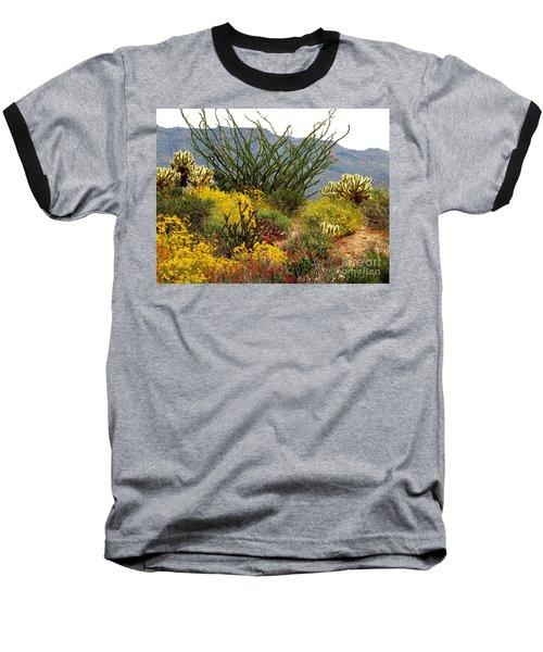 Arizona Springtime Baseball T-Shirt by Marilyn Smith