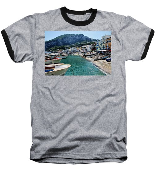 Arrival To Capri  Baseball T-Shirt