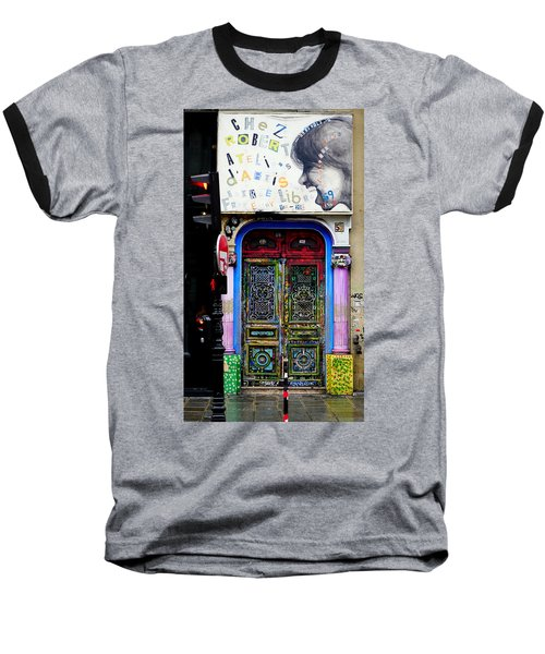 Artistic Door In Paris France Baseball T-Shirt
