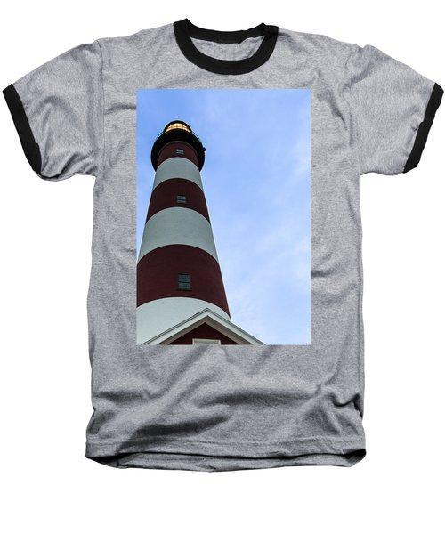 Assateague Lighthouse At Dawn Baseball T-Shirt