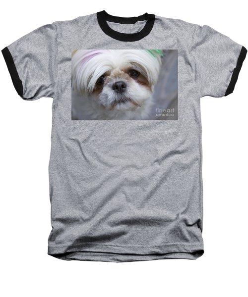 Baseball T-Shirt featuring the photograph Atsuko by Xn Tyler