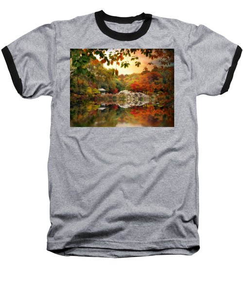 Autumn At Hernshead Baseball T-Shirt