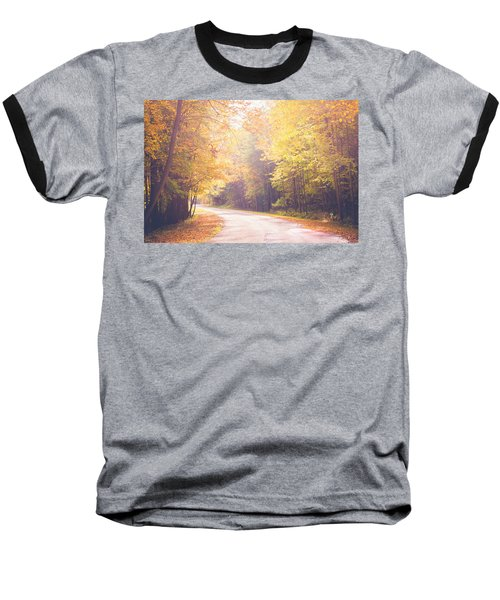 Autumn Light Baseball T-Shirt by Sara Frank