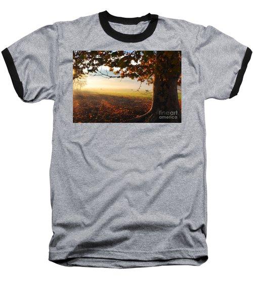 Autumn Tree Baseball T-Shirt
