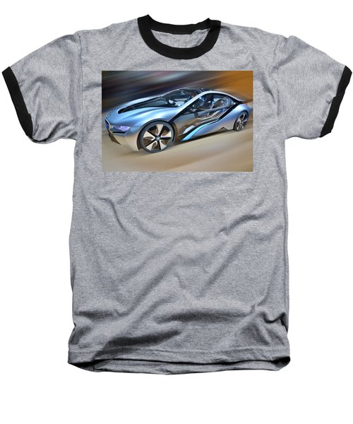 B M W  Edrive I8  Concept  2014 Baseball T-Shirt