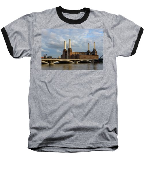 Battersea Power Station Baseball T-Shirt