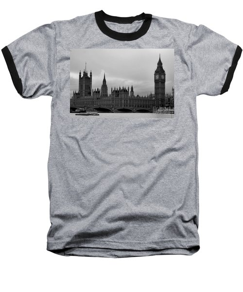 Big Ben Baseball T-Shirt by Melissa Petrey