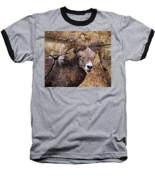 Bighorn Rock Baseball T-Shirt