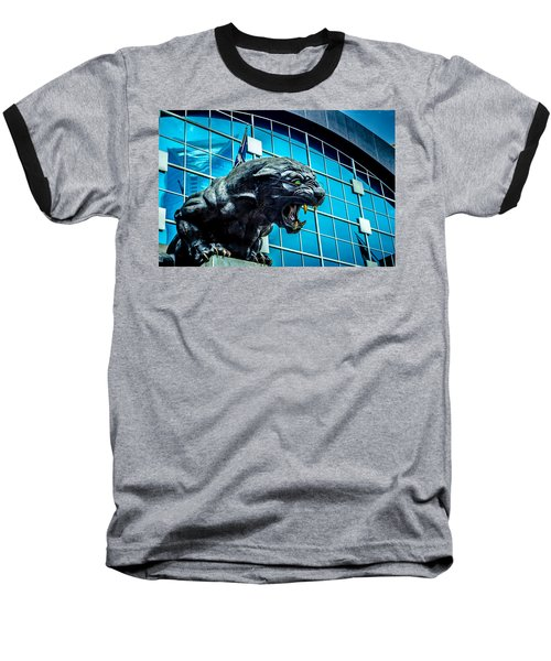 Baseball T-Shirt featuring the photograph Black Panther Statue by Alex Grichenko