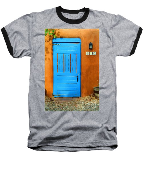 Blue Door In Santa Fe Baseball T-Shirt