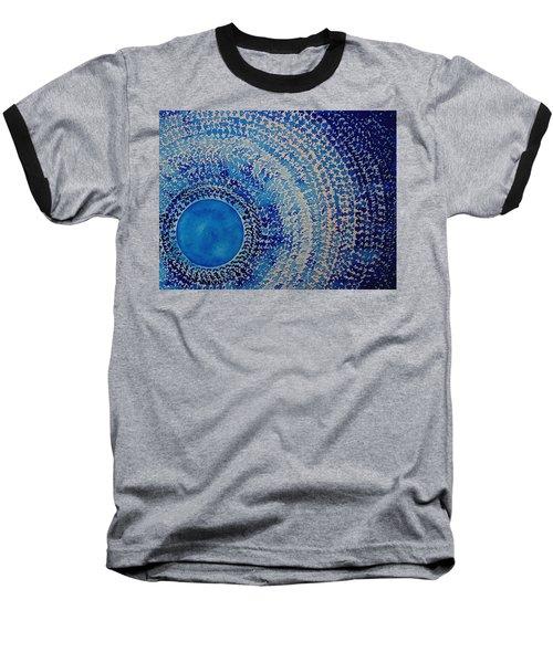 Blue Kachina Original Painting Baseball T-Shirt