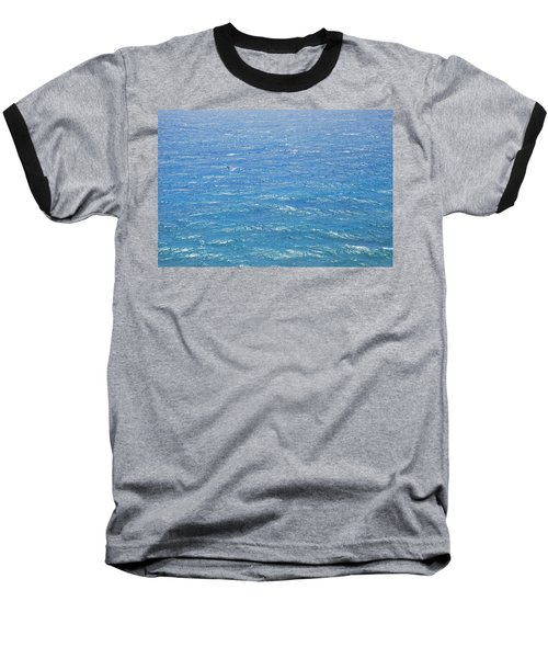 Baseball T-Shirt featuring the photograph Blue Waters by George Katechis