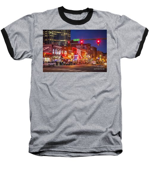 Broadway Street Nashville Baseball T-Shirt