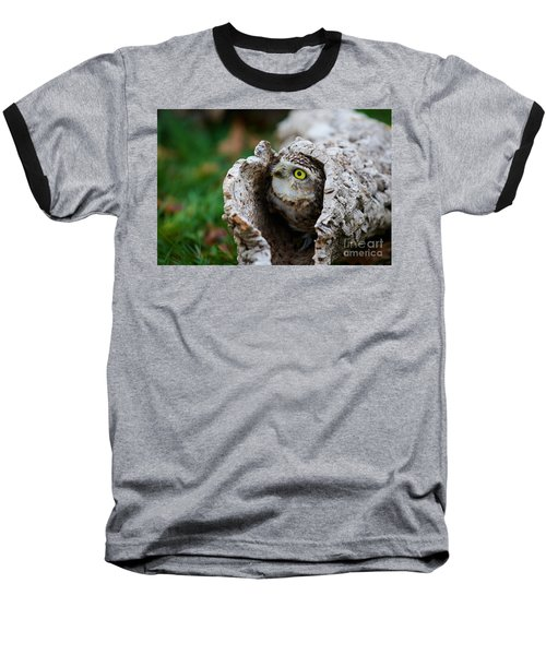 Burrowing Owl  Baseball T-Shirt