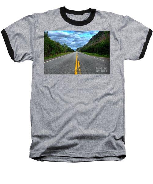 Baseball T-Shirt featuring the photograph Cabot Trail by Joe  Ng