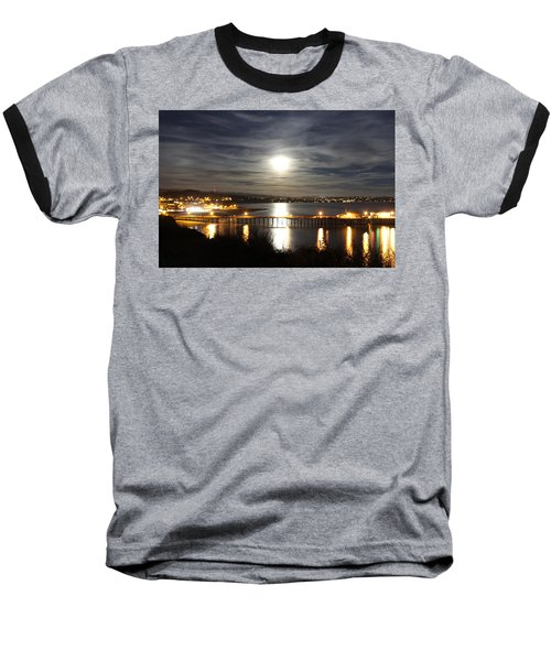 Capitola Moonscape Baseball T-Shirt