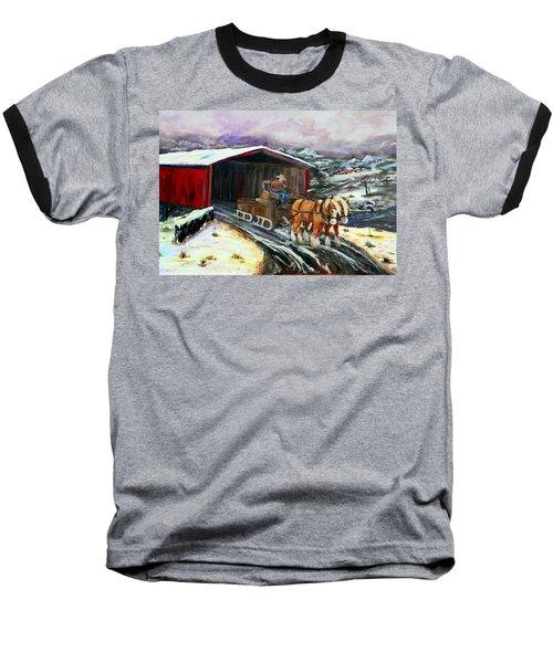 Christmas Eve Baseball T-Shirt