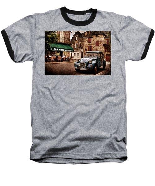 Citroen 2cv In French Village / Meyssac Baseball T-Shirt