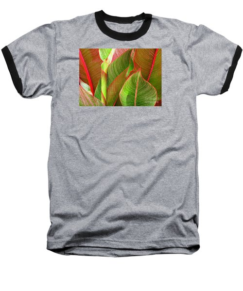 Colorful Leaves Baseball T-Shirt
