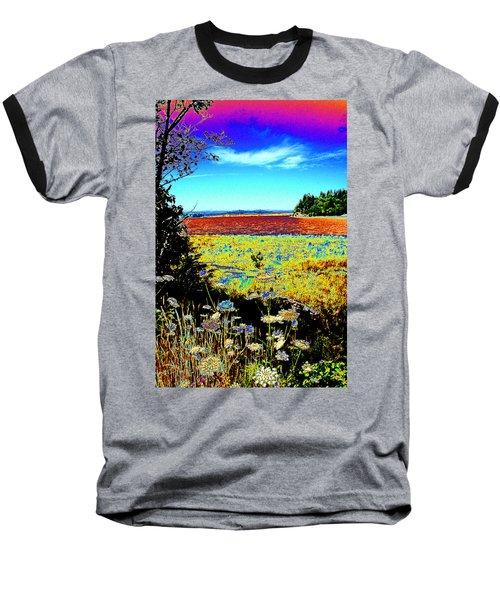 Coos Bay Wild Flowers Baseball T-Shirt
