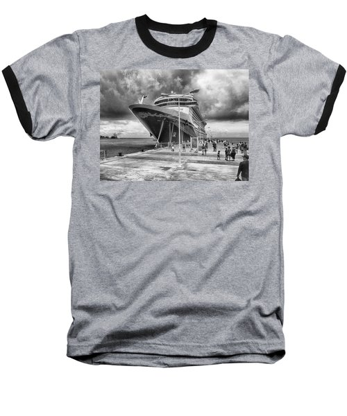 Baseball T-Shirt featuring the photograph Disney Fantasy by Howard Salmon