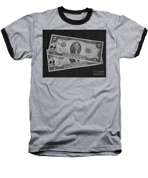 2 Dollars Baseball T-Shirt