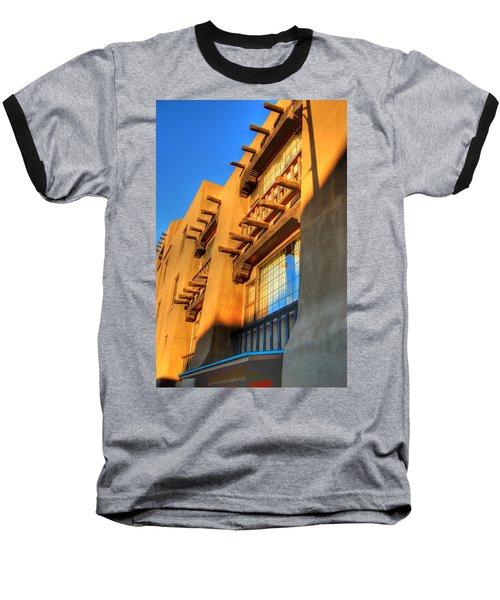 Downtown Santa Fe Baseball T-Shirt