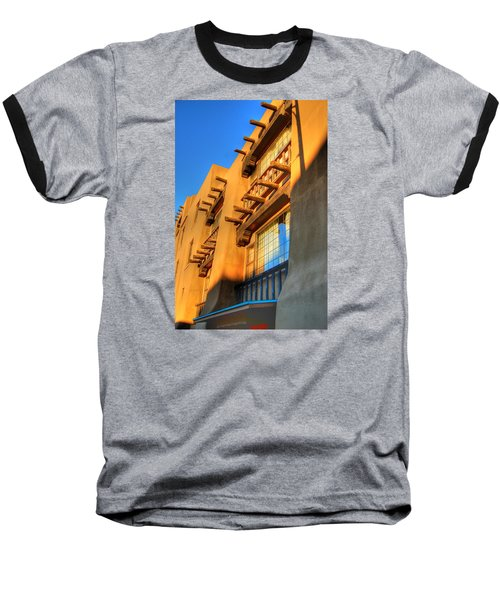 Downtown Santa Fe Baseball T-Shirt