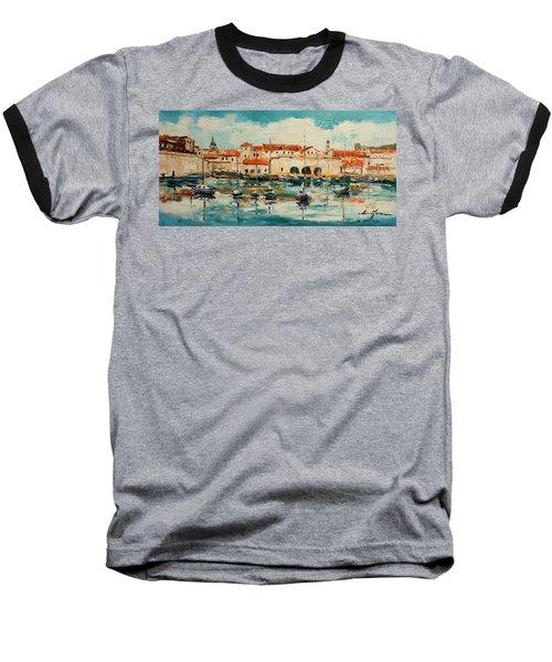 Dubrovnik - Croatia Baseball T-Shirt