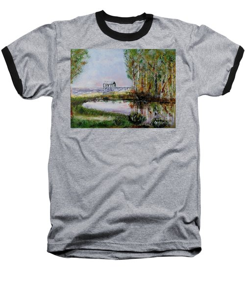Fairhope Al. Duck Pond Baseball T-Shirt by Melvin Turner