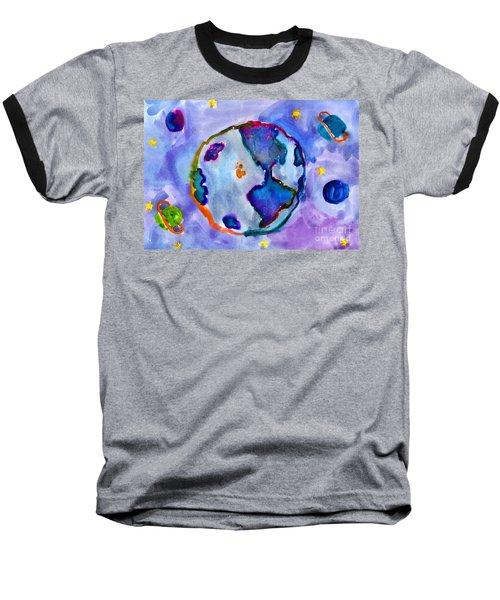 Earth Baseball T-Shirt