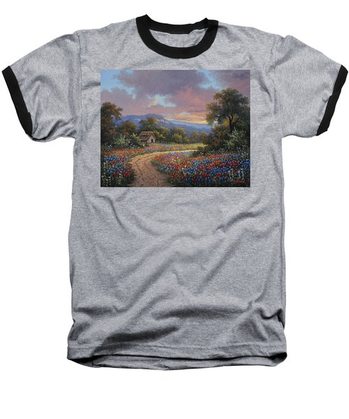 Evening Medley Baseball T-Shirt by Kyle Wood