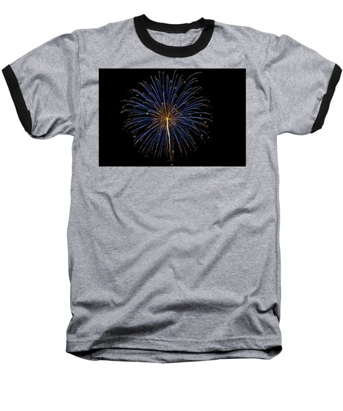 Fireworks Bursts Colors And Shapes Baseball T-Shirt