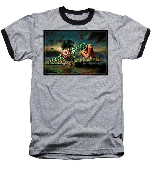 Floating Coke Bottle Baseball T-Shirt
