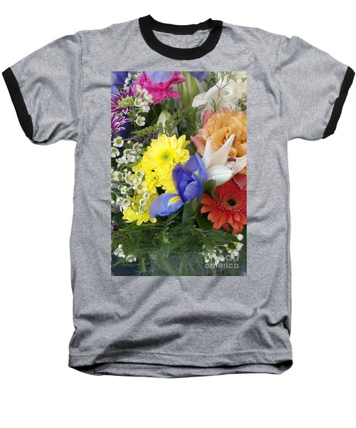 Floral Bouquet 4 Baseball T-Shirt