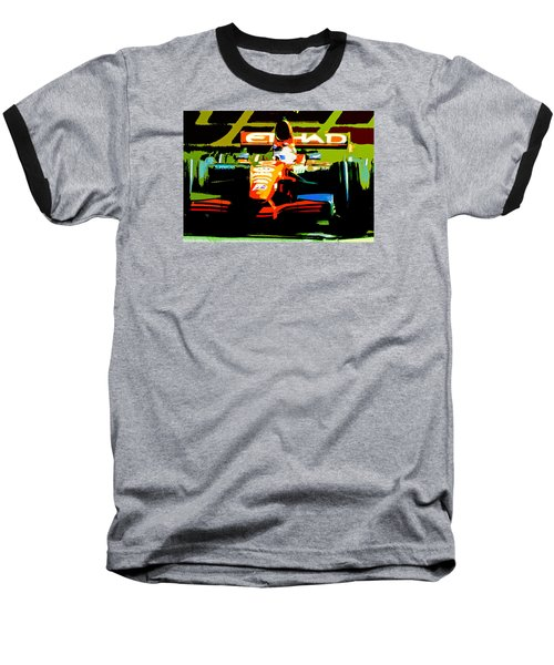 Formula One Baseball T-Shirt by Michael Nowotny