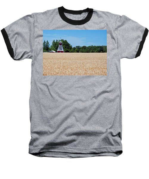 Baseball T-Shirt featuring the photograph Fox Tower by Keith Armstrong