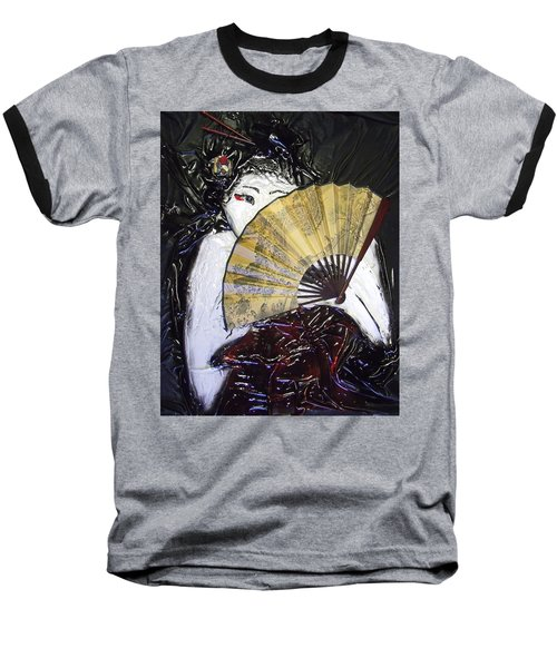 Geisha Girl Baseball T-Shirt