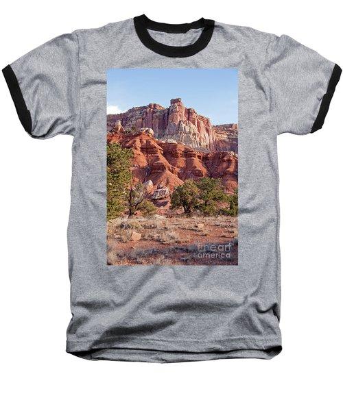 Golden Throne Capitol Reef National Park Baseball T-Shirt