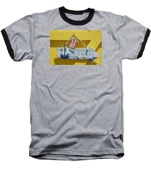 Gone To The Beach Baseball T-Shirt
