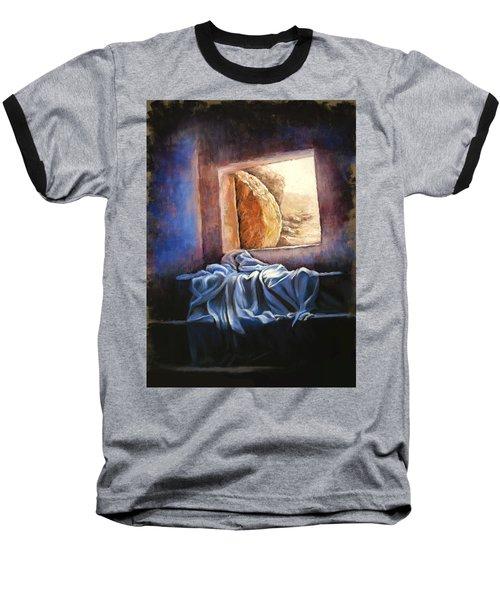 He Is Risen Baseball T-Shirt