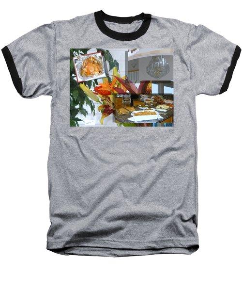 Holiday Collage Baseball T-Shirt
