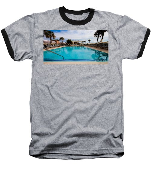 Infinity Pool Baseball T-Shirt