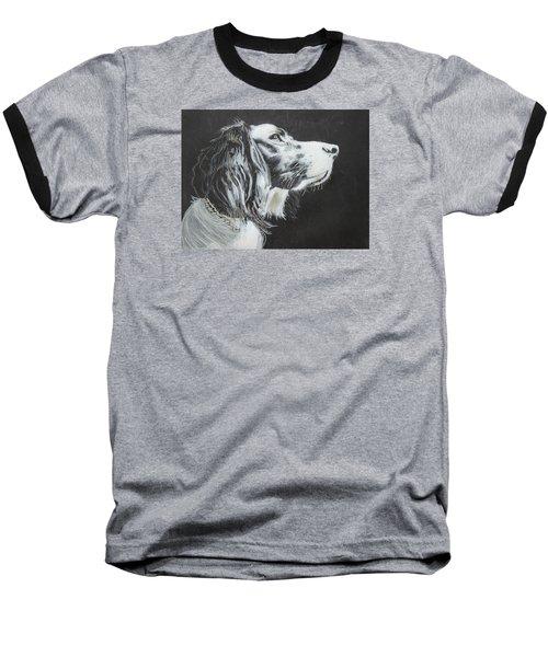 Intent Baseball T-Shirt by Jeanne Fischer