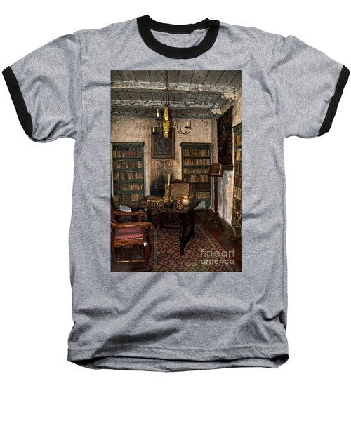 Junipero Serra Library In Carmel Mission Baseball T-Shirt