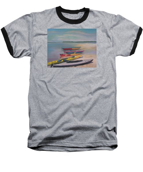 Kayaking Trip Baseball T-Shirt