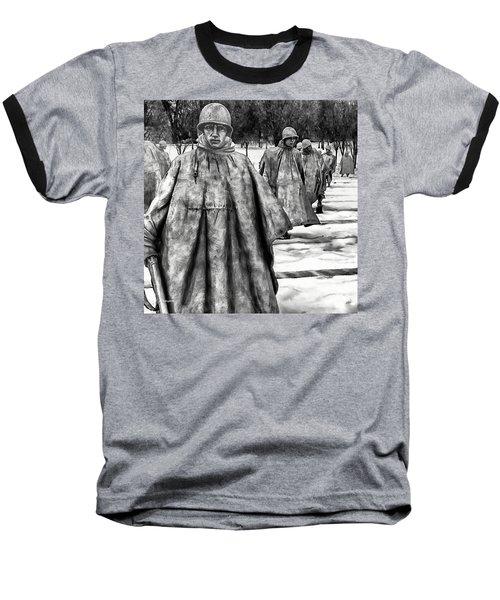 Korean War Memorial Washington Dc Baseball T-Shirt