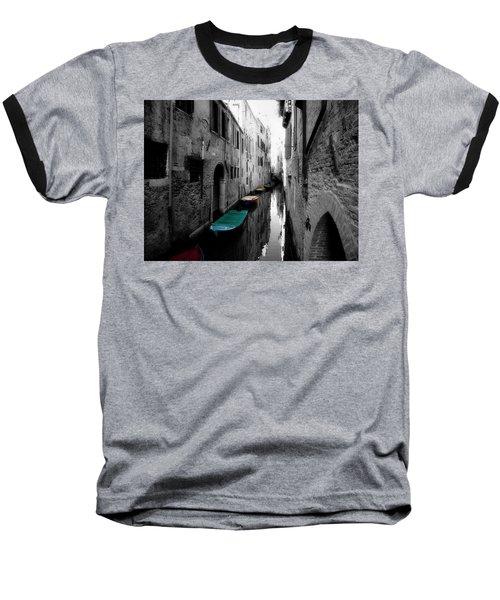 Baseball T-Shirt featuring the photograph L'aqua Magica by Micki Findlay