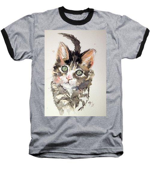 Little Cat Baseball T-Shirt